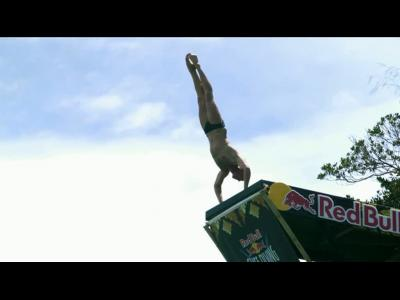 Le Red Bull Cliff Diving a un nouveau champion du monde