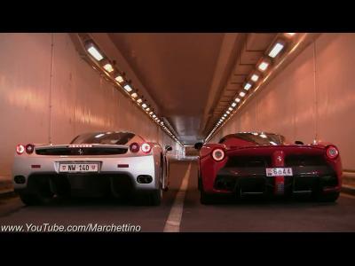 Ferrari Enzo / LaFerrari : laquelle chante le mieux ?