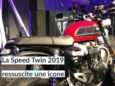 Triumph Speed Twin : le reveal mondial