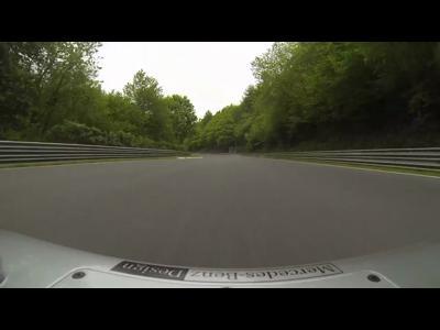 Michael Schumacher découvre le Nordschleife en F1
