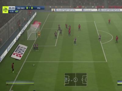 Nice - PSG sur FIFA 20 : on a simulé le match de la 10e journée de Ligue 1