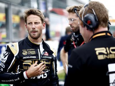 Grand Prix d'Italie de F1 : la dernière chance de Grosjean chez Haas ?