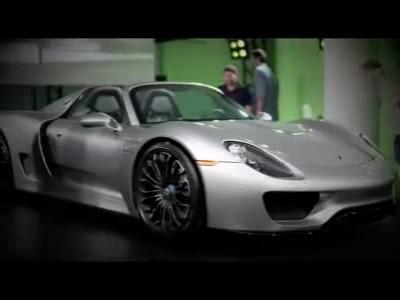 Les images de la Porsche 918 Spyder de série