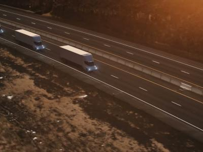 Tesla Semi : le camion plus aérodynamique qu'une Bugatti Chiron