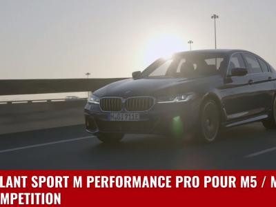 Nouvelle BMW Série 5 : le restylage en vidéo