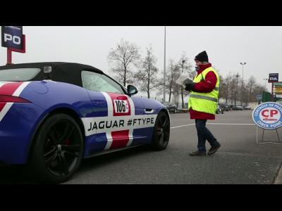 Jaguar n'est pas passé inaperçu au Rallye de Paris