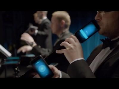 Concert de smartphones et tablettes