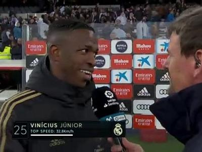"""Vinicius Jr. : """"Je savais que ce moment allait arriver !"""""""
