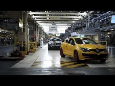 Mégane R.S. 275 Trophy-R : making-of