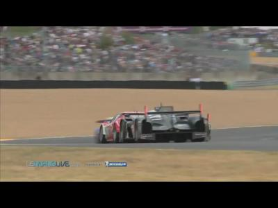 24H du Mans 2011 - Crash Audi McNish