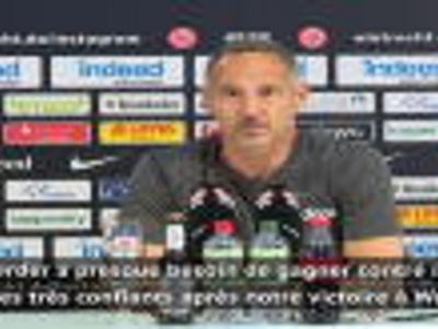 """24e j. (en retard) - Hütter : """"Il est interdit de perdre contre le Werder"""""""