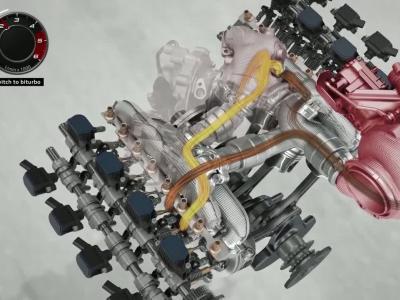 Le compresseur électrique de l'Audi Q7 en détail
