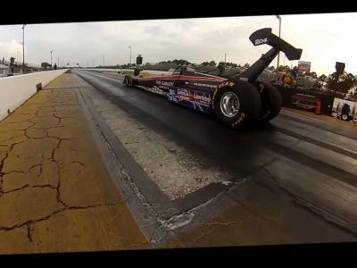 296 km/h en dragster électrique