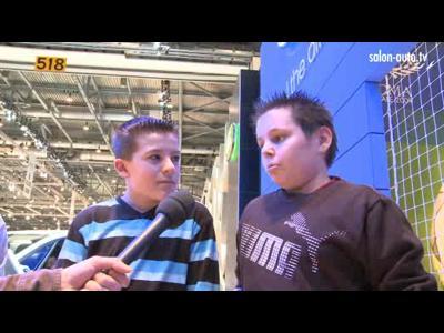 Les enfants au Salon de Genève