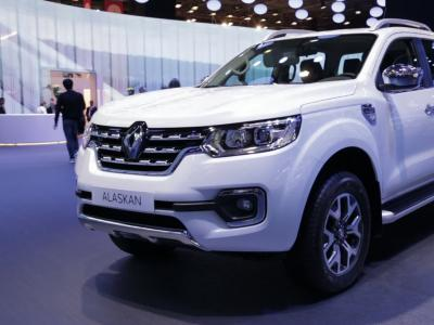 Mondial 2016 : Renault Alaskan