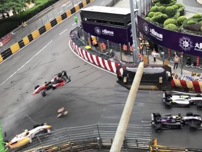 F3 - Grand Prix de Macao : la vidéo du terrible accident de Sophia Flörsch
