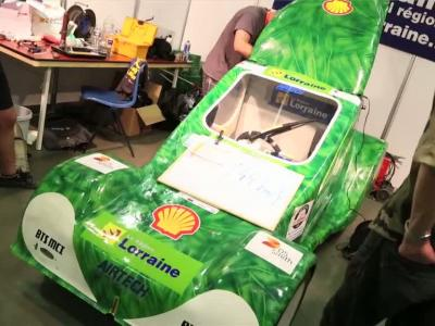 Immersion au Shell Eco-Marathon 2014