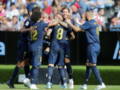 Celta Vigo - Real Madrid : le but de Toni Kroos