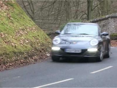 Essai Porsche 911 Targa 4S PDK
