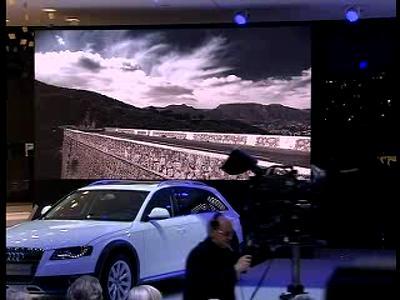 Audi - conférence presse Genève 2009
