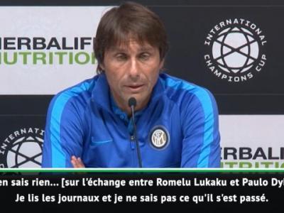 Inter Milan : Conte se prononce sur Romelu Lukaku !