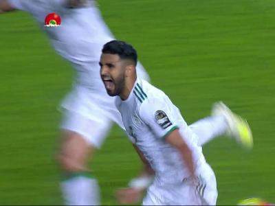 CAN 2019 / Algérie - Nigéria : Le coup-franc victorieux de Mahrez