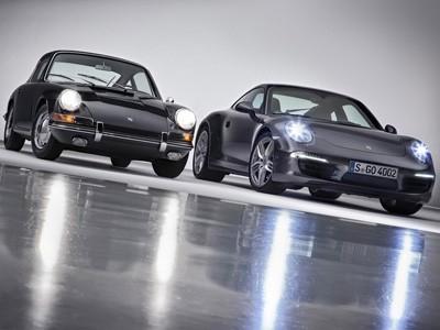 Porsche 911 50eme anniversaire : choc des générations