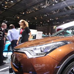 Mondial 2016 : Toyota C-HR