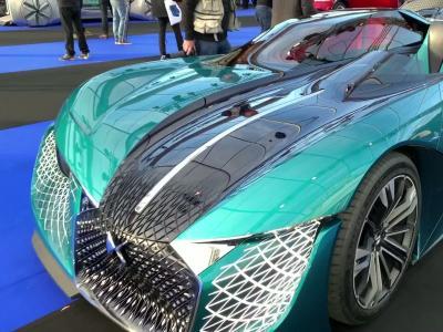 DS X e-tense : notre vidéo au Festival Automobile International