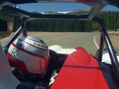 La montée victorieuse et en caméra embarquée de Romain Dumas à Pikes Peak