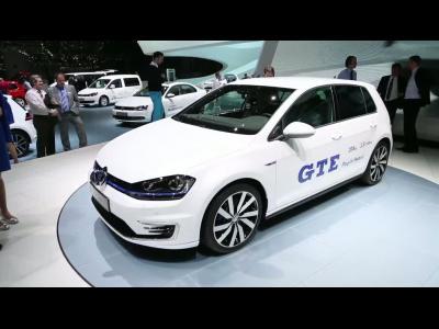 Genève 2014 : Volkswagen Golf GTE