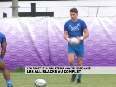 Nouvelle-Zélande : la composition des Blacks contre l'Angleterre