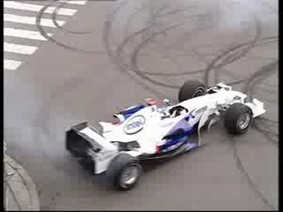 Nick Heidfeld pilotant une BMW Sauber F1