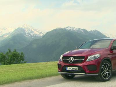 Essai Mercedes GLE 450 AMG Coupé