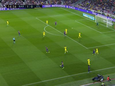 Barça - Villarreal : Le missile d'Arthur !
