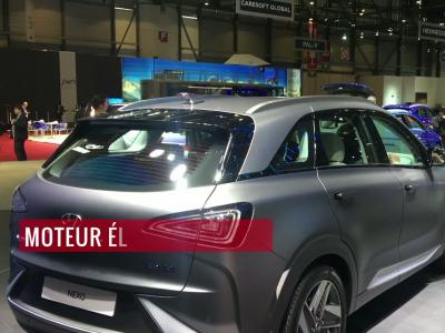 La Hyundai Nexo en vidéo depuis le salon de Genève 2018