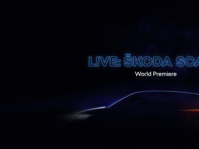 Skoda Scala : suivez la présentation en première mondiale en direct vidéo