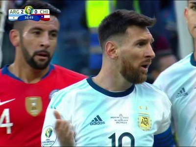 Copa America : l'expulsion de Messi