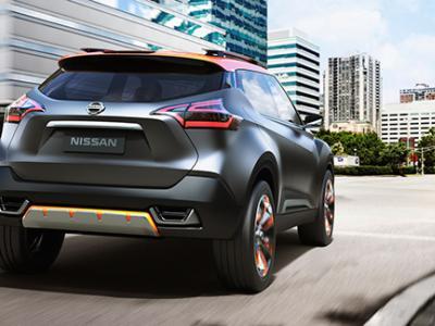 Nissan dévoile le Kicks Concept au salon de Sao Paulo