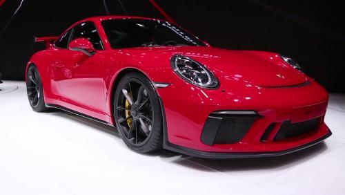 Genève 2017 : Porsche 911 GT3
