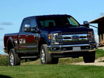 Nouveau Ford F-Series Super Duty: plus fort mais aussi plus léger