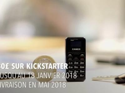 Zanco Tiny T1 : présentation du plus petit téléphone du monde