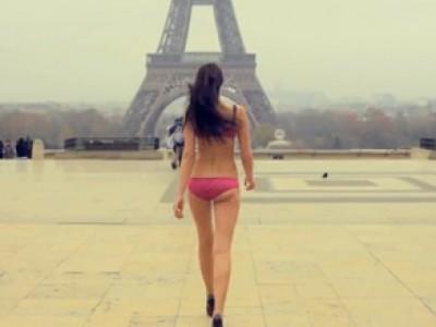 Une petite culotte dans Paris