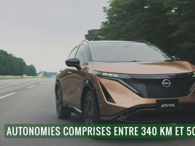 Nissan Ariya : le coupé électrique nippon en vidéo