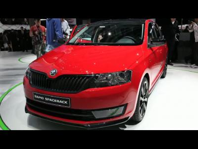Francfort 2013 - Skoda Rapid Spaceback
