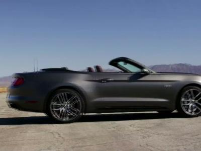 Essai Ford Mustang cabriolet