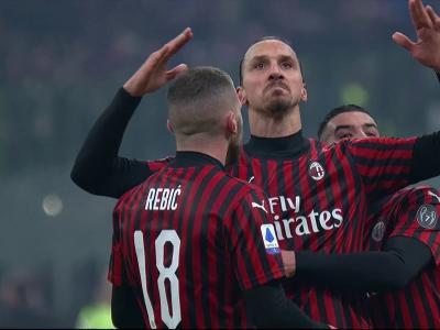 Serie A - Zlatan a frappé dans le derby !
