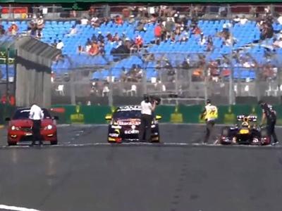 F1 contre V8 Supercar contre Mercedes AMG : match saisissant à Melbourne