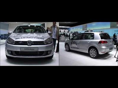 Reportage Volkswagen Golf VI Bluemotion Concept