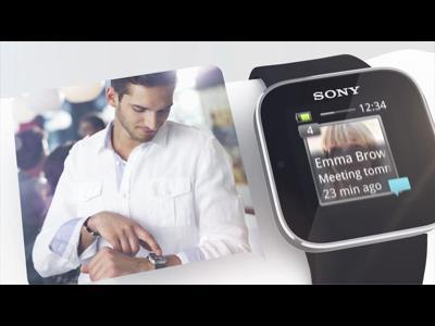 La SmartWatch de Sony pour faire le beau